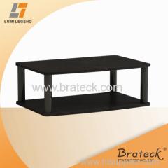 Wood TV Swivel stand with Ball Bearing Swivel Mechanism