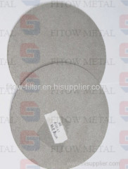 Micron Porous Sus304 316l Ss Sintering Stainless Steel Filter Disc