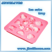 Heart silicone ice cube mold
