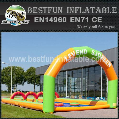 Water Slip Inflatable Game