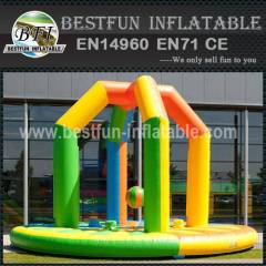 Inflatable Wrecking Ball Sport Game