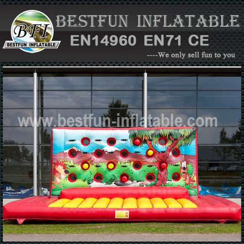 Inflatable Wall Fists Game