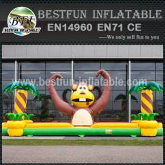 Inflatable Bungee Monkey Game