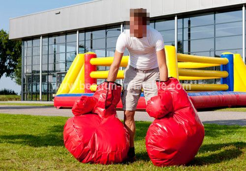 Boxing Platform inflatable Bounce
