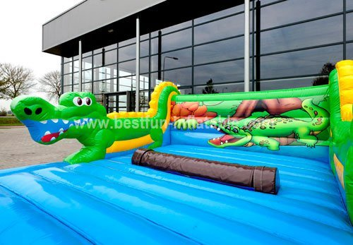 Hot wild river inflatable game for kids and adults