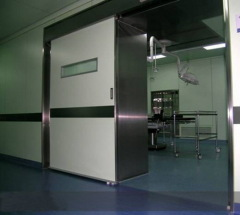 Manual sliding doors for operation theatres