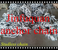 Hot Galvanizing studless chain
