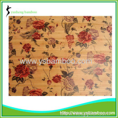 flower pattern wall covering