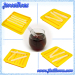 Silicone ice cube tray with many sticks