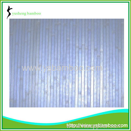 blue bamboo wall covering