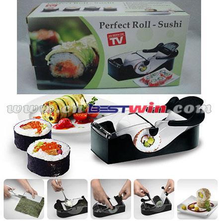 Magic sushi maker plastic sushi roll