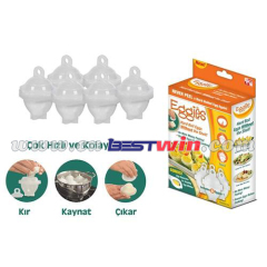 Egg tools 6 in 1 set boiled eggs