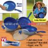 Flavor stoneBlue Sapphire Essential Cookware Set