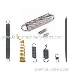 professional manufactory on steel tension spring