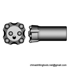 thread button drill bits for thread rods