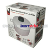 Microwave pressure cooker steamer pot rice