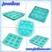 Snowflake silicone ice cube tray & chocalate mould china