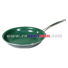 Aluminum green pan cookware ceramic cookware