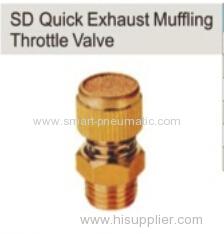 SD Quick Exhaust Muffling Throttle Valve
