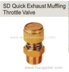 SD Quick Exhaust Muffling Throttle Valve