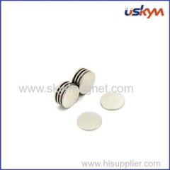 Nickel plating round magnet
