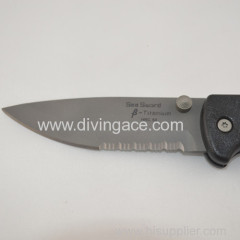 Premium Titanium diving knife