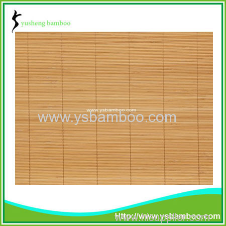 kitchen wall bamboo covering