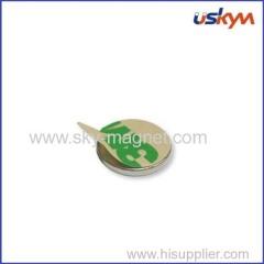 Neodymium magnet with 3M adhesive