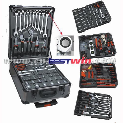 188pcs tool set in aluminium trolley case