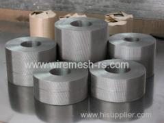 reversible dutch filter belt for plastic extruder