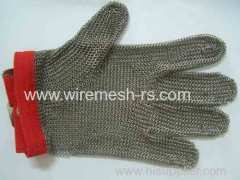 butcher stainless steel mesh gloves