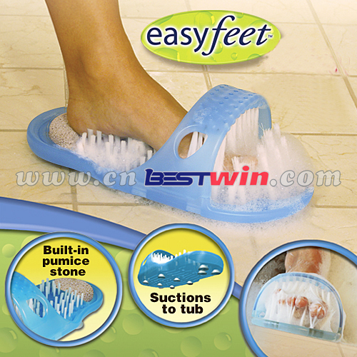 NEW Easy feet - Massages feet & exfoliates