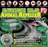 Ultrasonic solar animal repeller