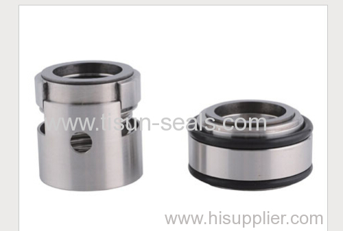 mechanical seal with floating intermediate ring