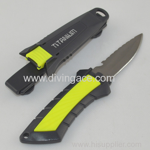 2014 manufacturer ocean master titanium dive knife new product