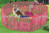 Folding metal wire dog fence pet palypen as seen on tv