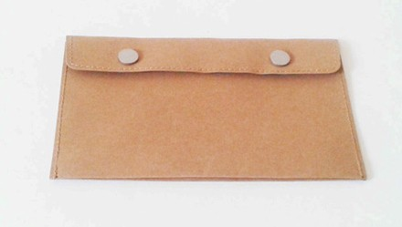 water-washable Kraft paper wallet