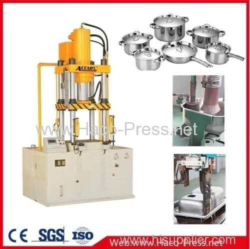 four columns press machine 100 tons Plastic deep drawing press