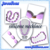 Silicone beads necklace jewelry china