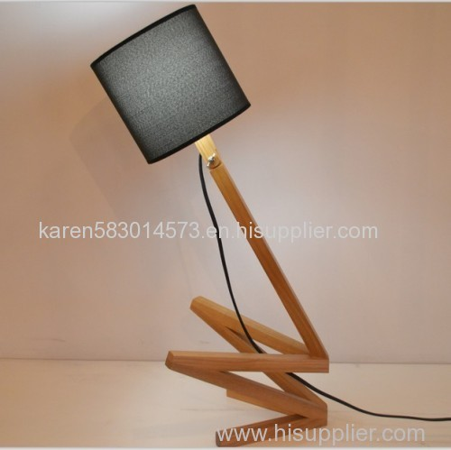Lightingbird Desk Lighting Innovative Wooden Table lamps