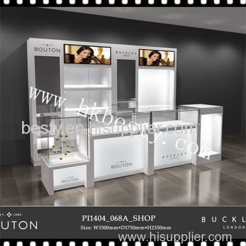 jewelry store furniture with LED