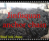 black tarred stud link chain FACTORY
