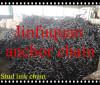 black tarred stud link chain FACTORY