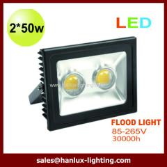 2*50W COB LED flood light