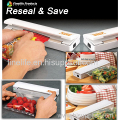reseal save handy bag sealer/As seen on tv reseal&save Simple household electric Sealer