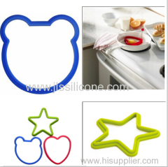 Silicone & Rubber Egg rings cooking tools in Food Grade