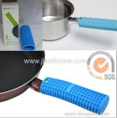 Colorful Skid proof Silicone handle cover for the pan