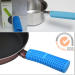 Eco-friendly Silicone heat insulation handle cover for the pan
