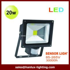 20W sensor LED flood light
