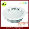 28W IP Die cast aluminium LED downlight
